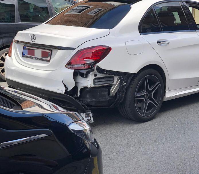 Beide auto's liepen redelijk wat schade op