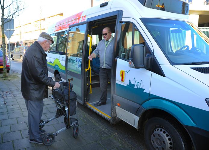 De servicebus verdwijnt per 1 mei uit Middelburg.