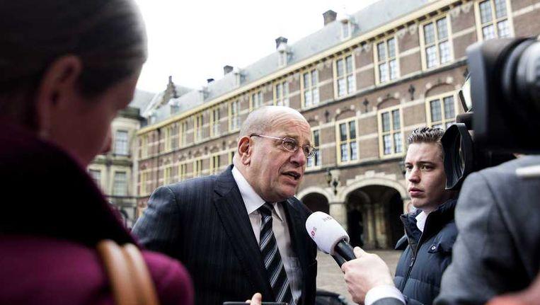Fred Teeven op het Binnenhof Beeld anp
