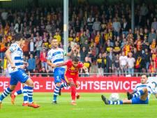 In een IJsselderby waarin van alles gebeurt, drukt GA Eagles rivaal PEC Zwolle dieper in de zorgen