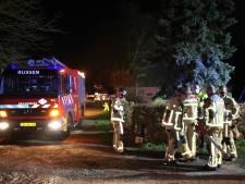 Brandweer blust schoorsteenbrandje in Wierden