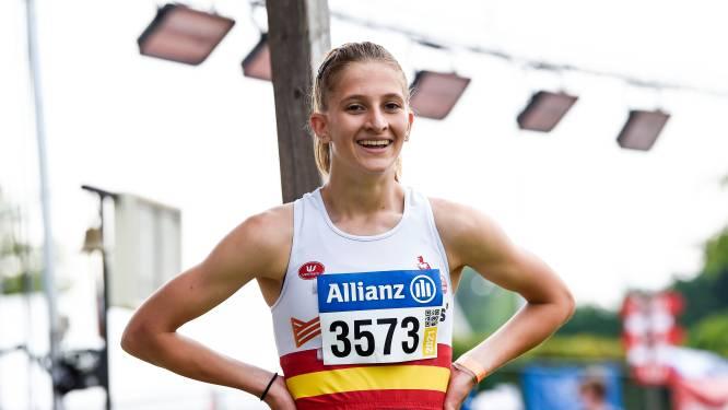 """Belgisch scholierenrecord 400m horden voor Zoë Laureys: """"Veel beter dan verwacht"""""""