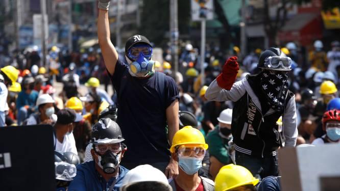 Opnieuw doden bij protesten Myanmar, burgers leggen massaal het werk neer