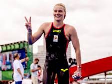 Zilveren Van Rouwendaal zwemt in ongekende omstandigheden 'beste openwaterrace ooit'