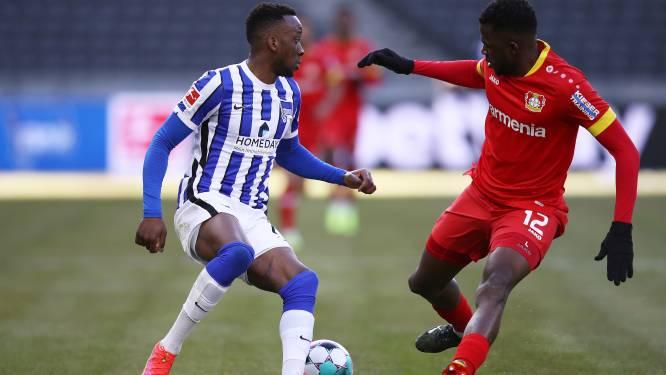 Dodi Lukebakio zet Hertha Berlijn met twee assists op weg naar overtuigende zege tegen Leverkusen