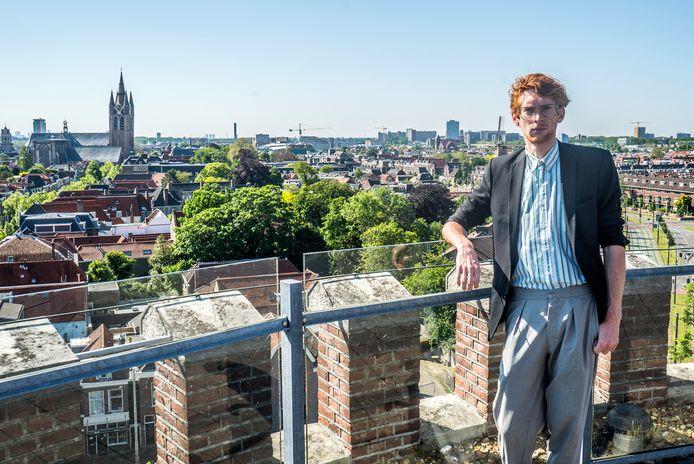 Niekolaas Lekkerkerk wil een kunstcentrum in de Delftse watertoren realiseren.