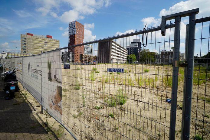 Hier moet het Nieuwe Metterswane komen. Een van de drie woontorens waarvoor Nijmegen subsidie uit Den Haag heeft gekregen.