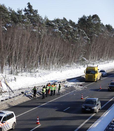 Reparaties na vorst: A73 richting Nijmegen gaat dit weekeinde op slot