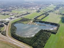 Drijvend zonnepark op zandwinplas Hattemerbroek maakt einde aan slibtransporten door het dorp