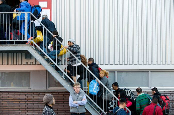 In 2015 ving Veenendaal tijdelijk rond de 150 Syrische vluchtelingen op in de sporthal Vallei.
