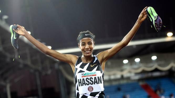 Sifan Hassan trekt bewust rookgordijn op: 'Laat haar concurrenten maar twijfelen'