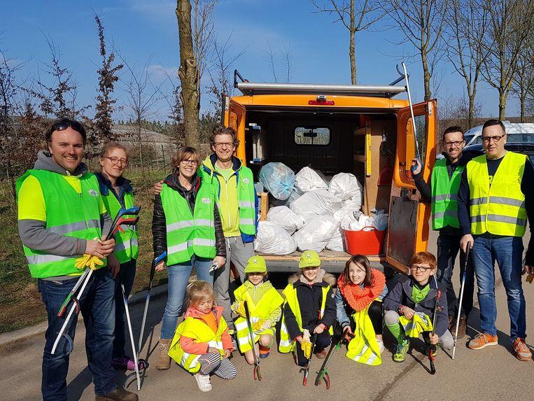 De gemeente rekent ook zaterdag weer op heel wat deelnemers aan de Grote Lenteschoonmaak.
