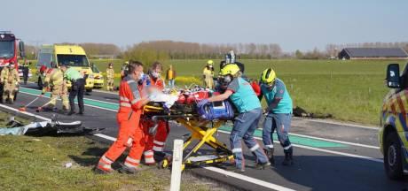 22-jarige vrouw uit Alphen in kritieke toestand na frontale botsing op Maas en Waalweg, Wijchenaar (39) lichtgewond
