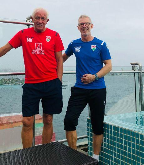 Koopman en Wermink loodsen Malediven voor eerste keer naar eindronde Azië Cup