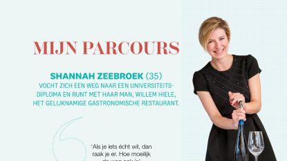 Het hobbelige parcours naar succes van Shannah Zeebroek die samen met haar man het gastronomische restaurant Willem Hiele runt