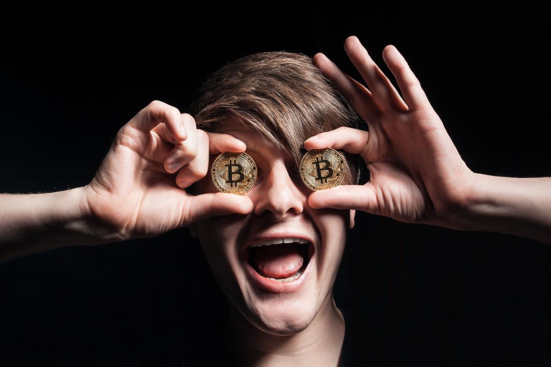Bitcoins Beeld Shutterstock