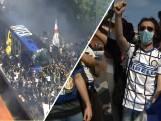 Feest bij supporters Inter: 'We zijn heel erg emotioneel'