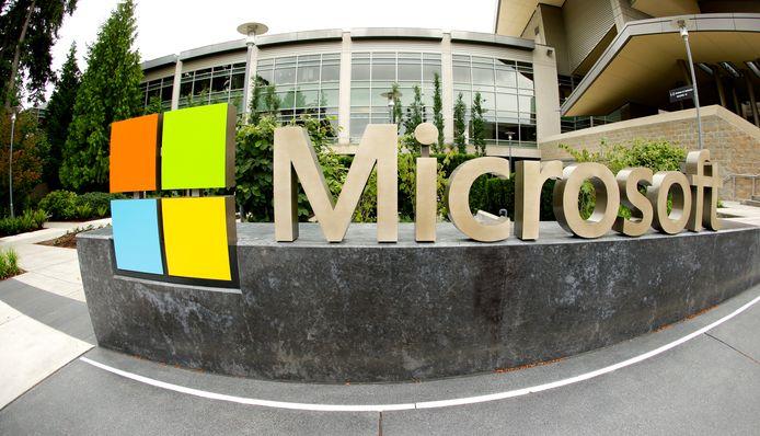 Het hoofdkantoor van Microsoft in Redmond in de noordwestelijke staat Washington.