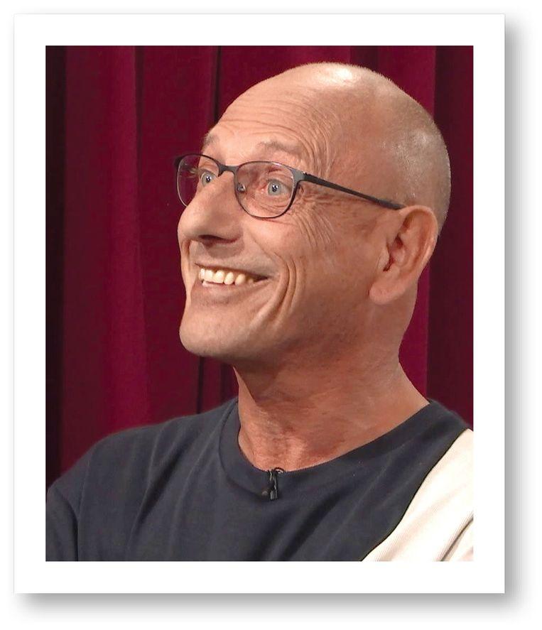 Patrick: 'Het is geen uitlach-tv. De makers zijn er niet op uit om van hun kandidaten een karikatuur te maken.' Beeld VRT