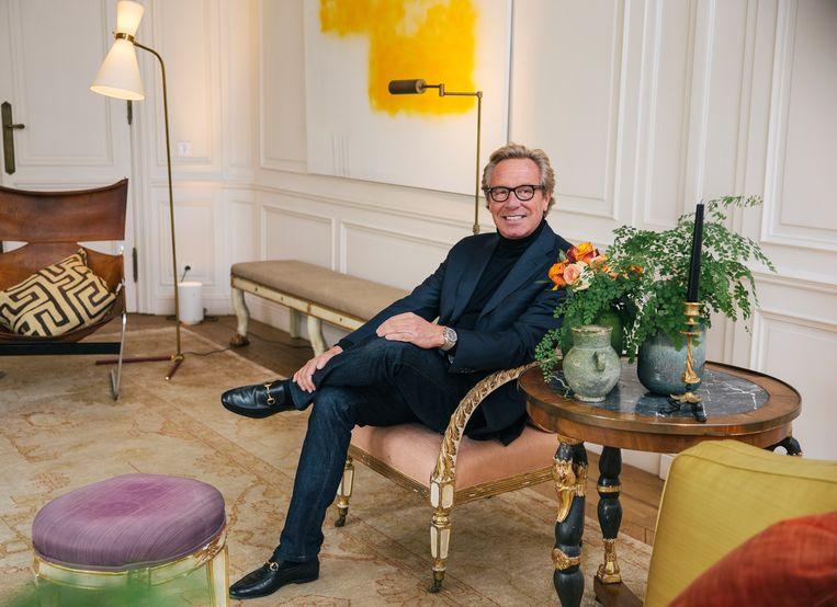 Modeontwerper Edouard Vermeulen. Beeld Robbie Depuydt