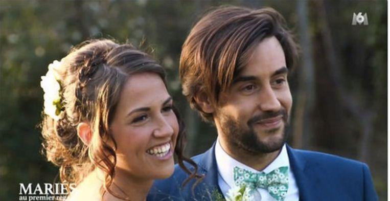 Tiffany met haar 'Blind Getrouwd'-echtgenoot Thomas.