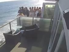 Un balcon s'effondre à Malibu et envoie des fêtards dans l'océan