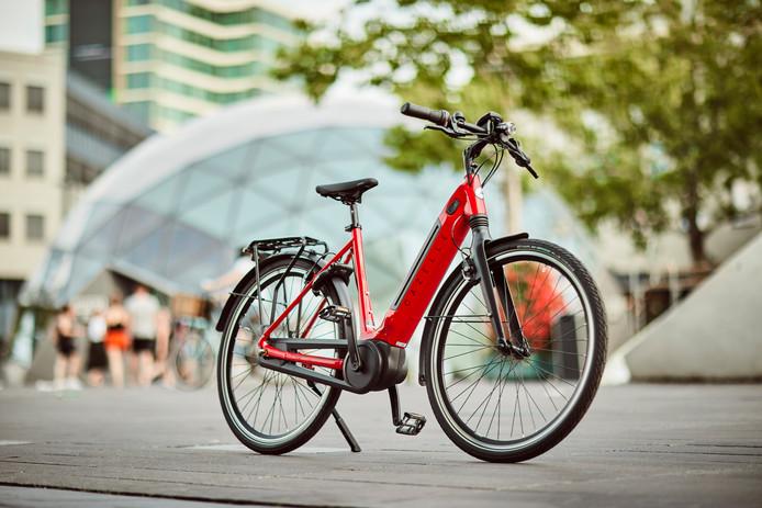 Het nieuwe topmodel van Gazelle, de Ultimate C8+: niet de lichtste, wel de meest comfortabele e-bike.