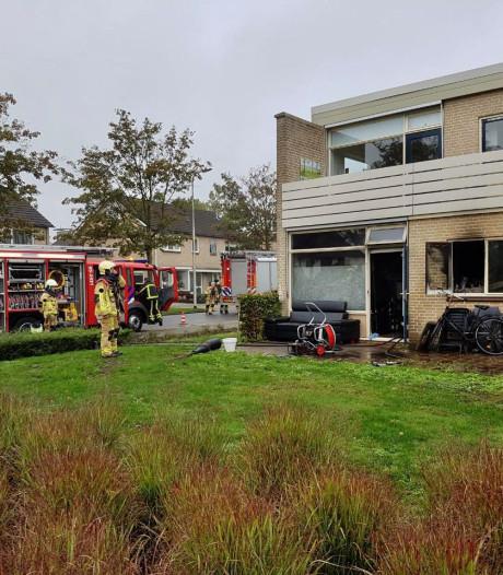 Tubbergenaar na brand in hoekwoning: 'Ik zag ineens rook onder de deur doorkomen'