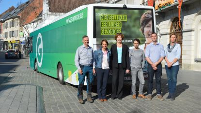 """Groen-bus houdt halt in Ninove: """"We willen andere stem laten horen in Denderstreek"""""""