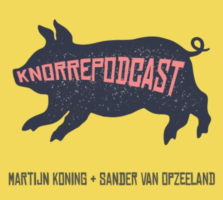De Knorrepodcast. Beeld Prive