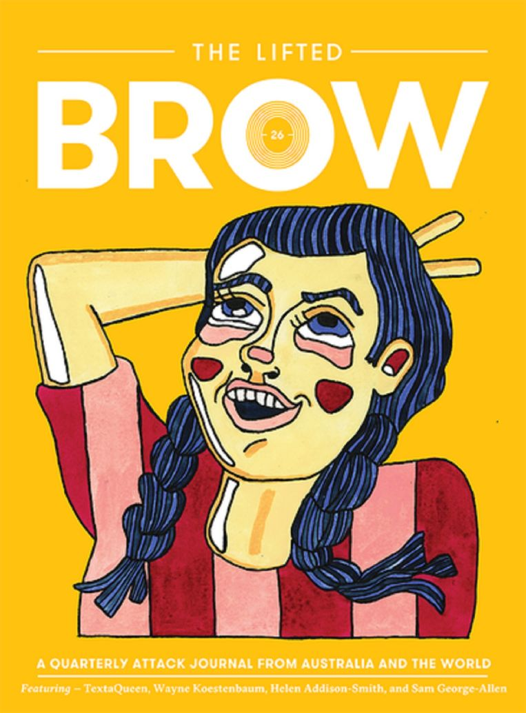 The Lifted Brow, nummer 26.  Beeld The lifted Brow