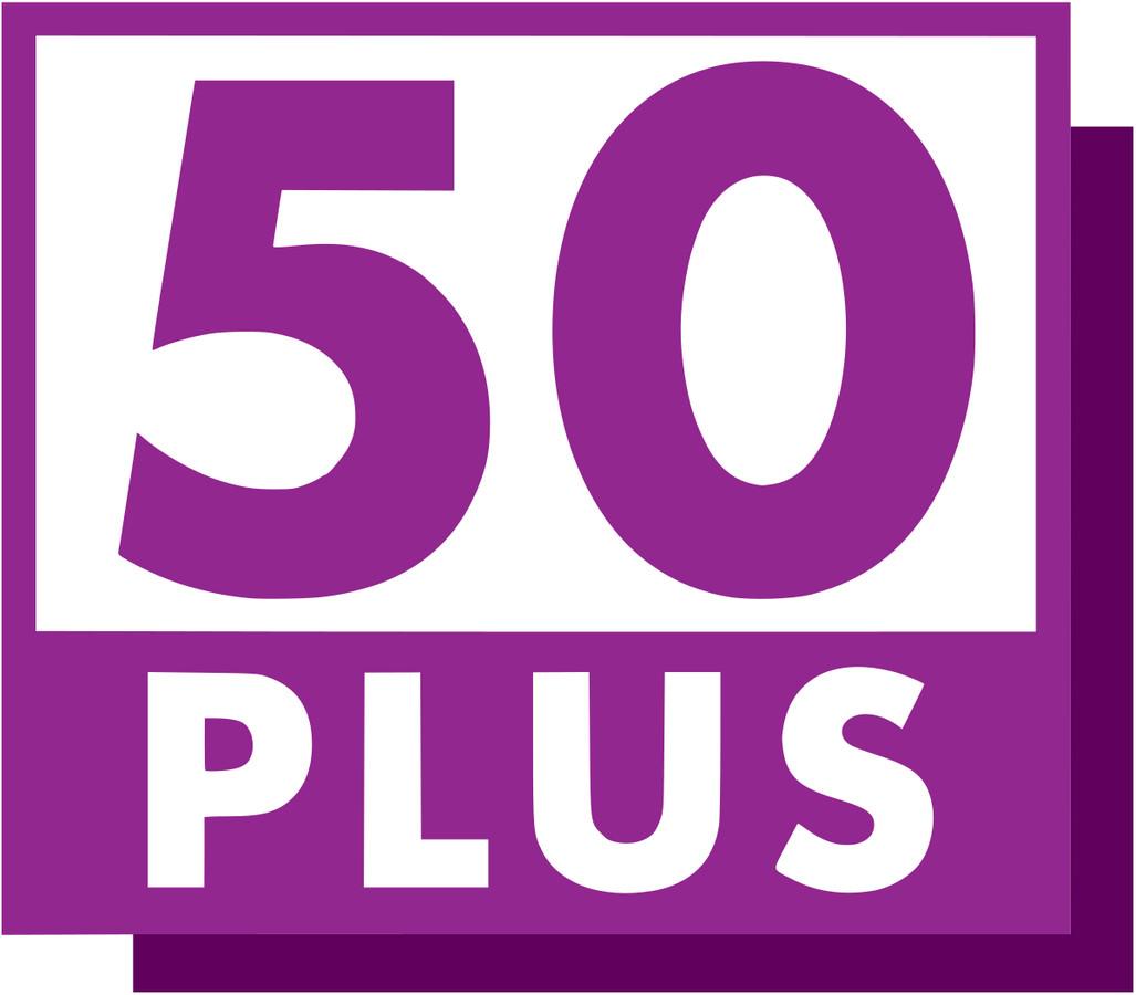 Logo, 50plus