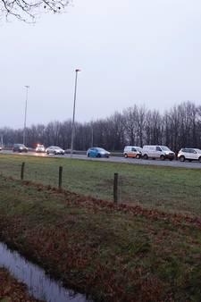Kettingbotsing met vier auto's op de A73
