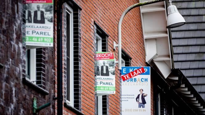 Huizen worden ook in de regio maar duurder en duurder, grootste prijsstijging in Leusden