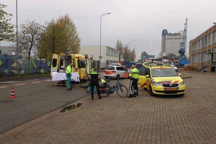 Vrouw zwaargewond na val van fiets Lodewijkstraat Eindhoven