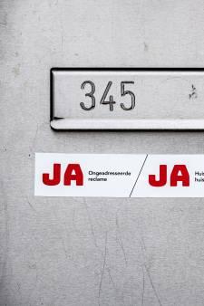Wie in Gorinchem woont en wil blijven neuzen in reclamefolders heeft een ja-jasticker nodig