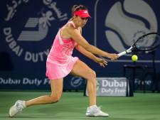 Elise Mertens qualifiée pour les demi-finales de Dubaï après sauvé trois balles de match