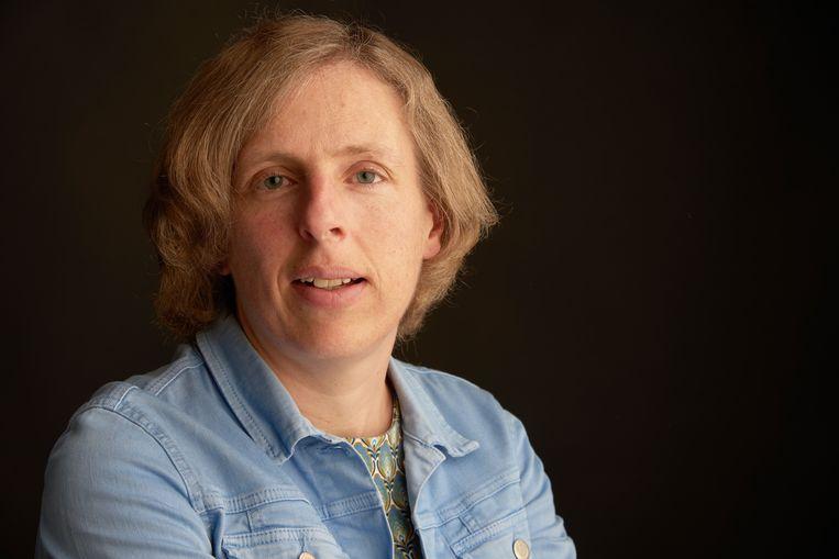 Directeur Liesbeth Hellemans: 'Met alle respect voor de zorg, maar het was ook in het onderwijs soms absurd.' Beeld rv