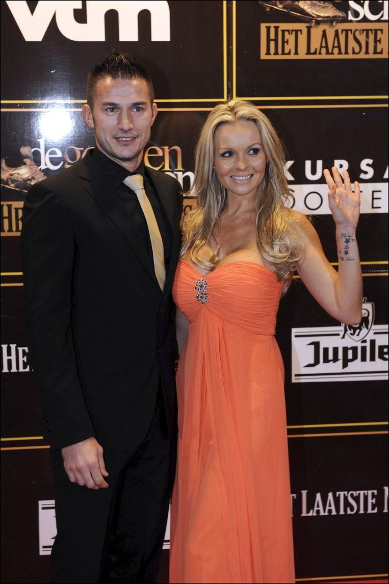 Carl Hoefkens en Vanessa zijn een vaste waarde op de Gouden Schoen.