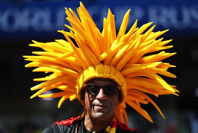 Een Belgische fan.