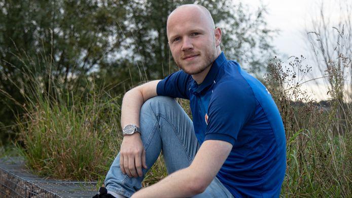 """Nick Buitenhuis heeft ruim een jaar gerevalideerd na een zware blessure. Zaterdag begint de competitie weer, maar Buitenhuis laat dan verstek gaan. ,,Ik trouw vrijdag."""""""