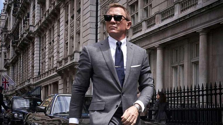 Daniel Craig als James Bond in 'No Time to Die'.  Beeld rv