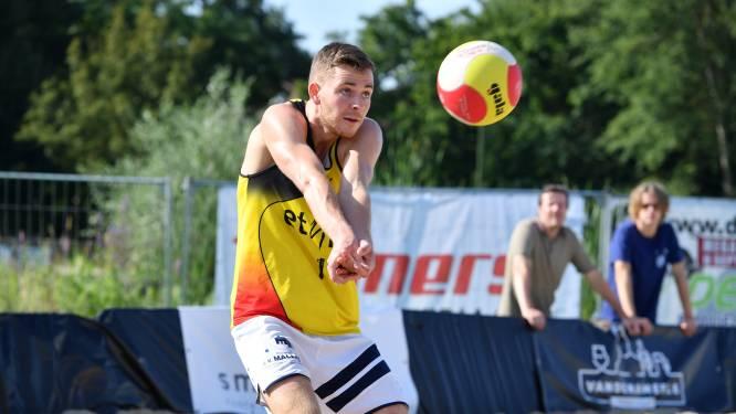 """Martijn Verspecht is klaar voor opener van BK beachvolleybal: """"We trekken met een goed gevoel naar Ieper"""""""