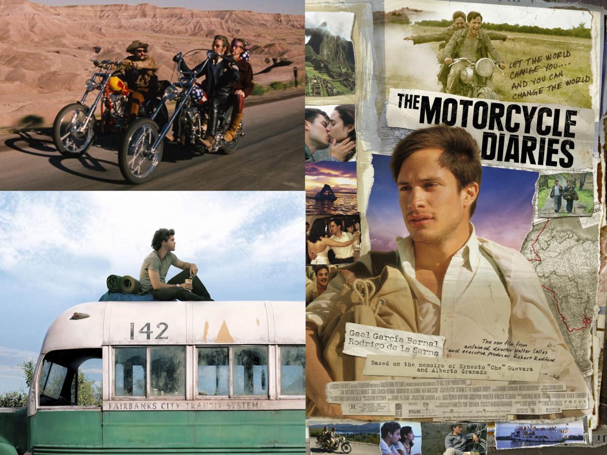 Easy Rider, Into the Wild en The Motorcycle Diaries komen voorbij in deze filmmuziekspecial van de podcast MovieInsiders.