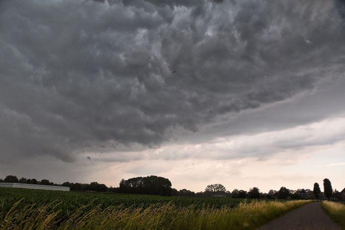 Onweer in Oisterwijk