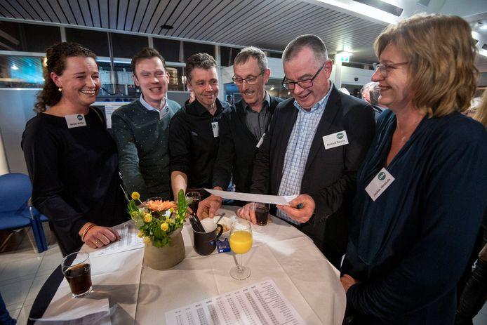 CDA Overbetuwe: met 9 zetels nog steeds de grootste partij in de gemeenteraad.