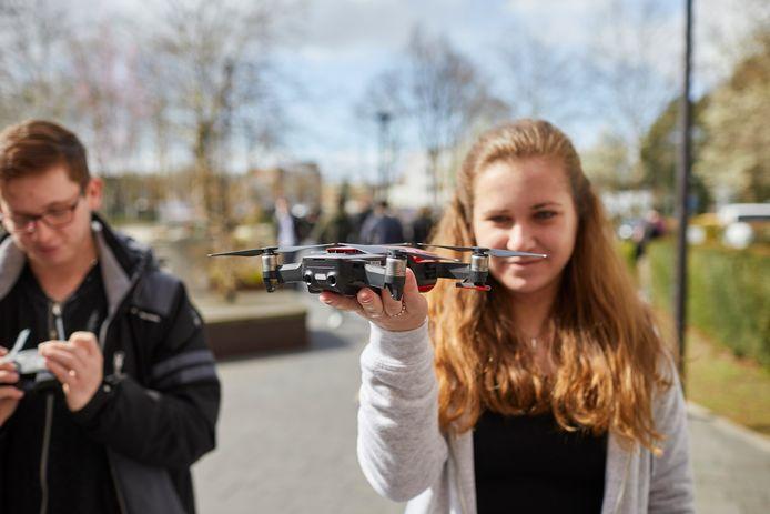 Studenten van Fontys kunnen voor hun onderzoek drones inzetten.