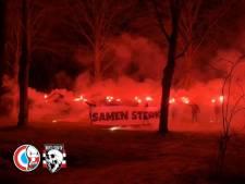 PSV-supporters betuigen met bijzondere actie steun aan perschef Thijs Slegers, die tegen een zware ziekte vecht