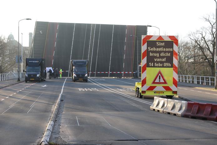 Sint Sebastiaanbrug Delft wordt vervangen