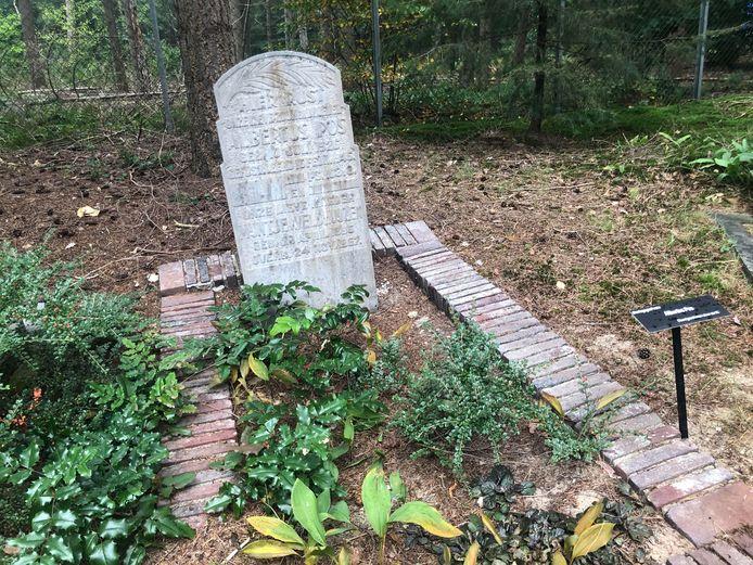 Het graf van Albertus Pos.